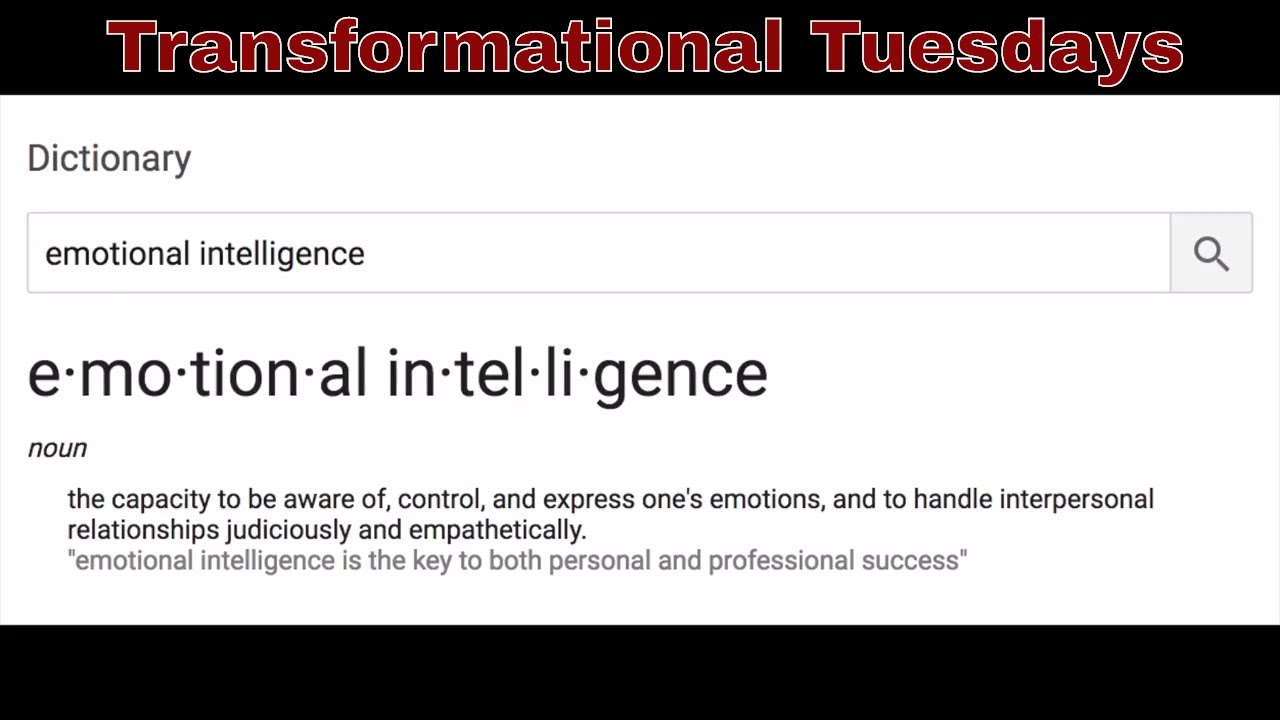 Emotional Intelligence is a Leadership Quality